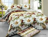 Двуспальный набор постельного белья Ранфорс №205