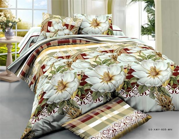 Евро набор постельного белья 200*220 из Ранфорса №205 Черешенка™