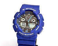 Наручные часы  GA-100 Синие