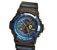 Наручные часы  Ferrari Inter Corsa черные с синим