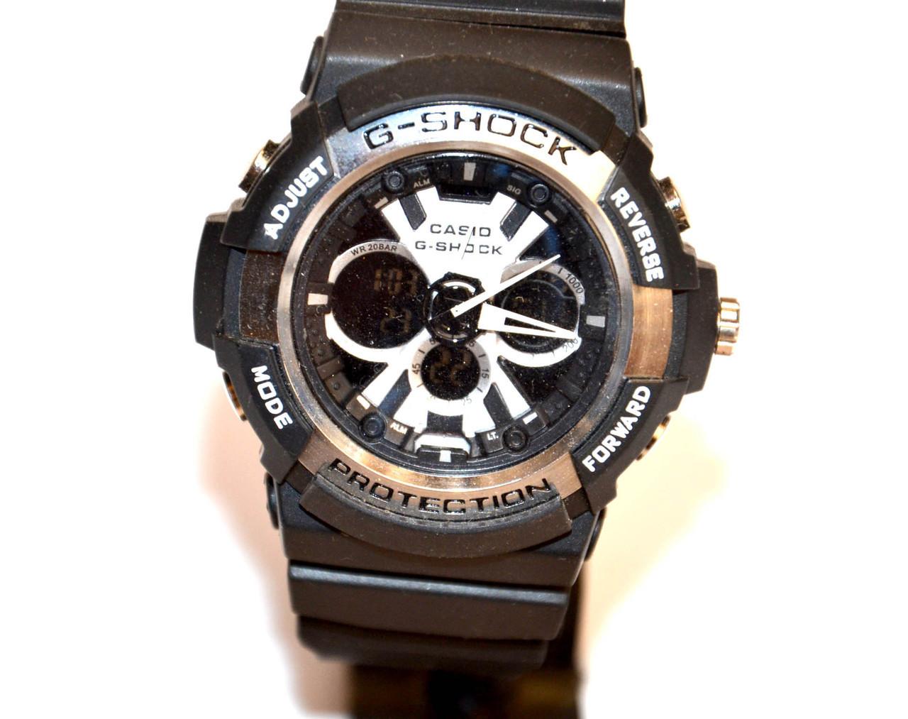 Наручные часы  GA-200 черные