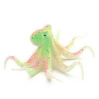 Осьминог люминесцентный Полосатый декор аквариума
