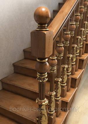 Элементы лестниц. Навершия.