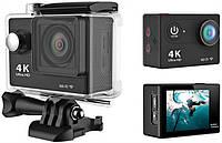 Экшн камера F60 4K WiFi LCD 2.0 + пульт