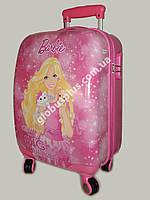 """Детский чемодан дорожный, кодовый замок,  """"Josef Otten"""" Barbie на четырех колесах 520274"""