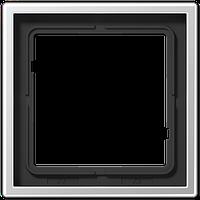 Рамка 1-я Jung LS 990 Aluminium