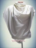 Натуральный платок класик белый ALMIRA, белый