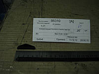 Направляющая бокового стекла (черная)