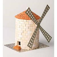 Керамический конструктор Мельница из 430 керамических деталей