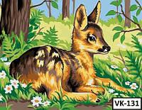 Картина на холсте по номерам VK 131 40x30см