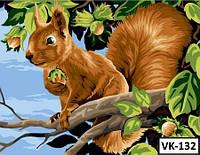 Картина на холсте по номерам VK 132  40x30см