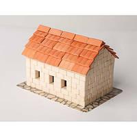Керамический конструктор Дом с черепицей из 370 керамических деталей