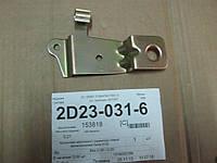Кронштейн маслянного радиатора левый металлический Geely EC8