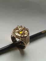 Мужской перстень, золото