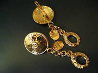Серьги, золото