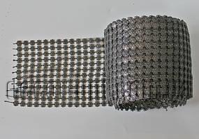 Имитация страз на ленте 12 см/10ярд TD128