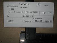 Транспондер Geely FC до 11.2008
