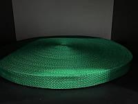 Тесьма лента ременная 25мм 900D (100м) зеленый