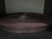 Тесьма лента ременная 25мм 900D (100м) коричневый