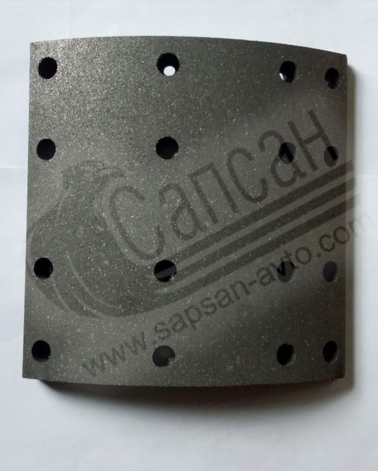 Накладка тормоз.(на одну ось) 350 мм Форд Карго 210х198мм. Т139252