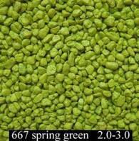 Песок GUTTI Зеленый 2-3мм, 4,5кг