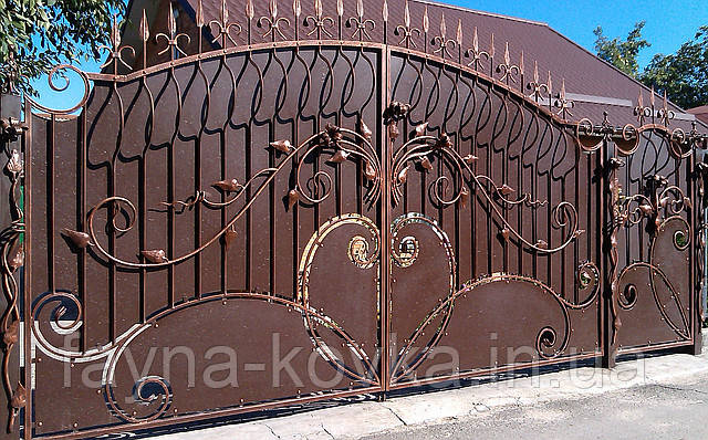 Кованые ворота 199
