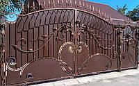 Кованые ворота 199, фото 1