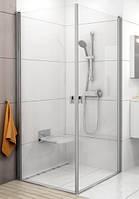 Ravak душевые двери Ravak Chrome CRV1-90 bright alu+glass Transparent (1QV70C01Z1)
