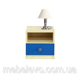 Гербор Твист тумба прикроватная   400х400х390мм синяя