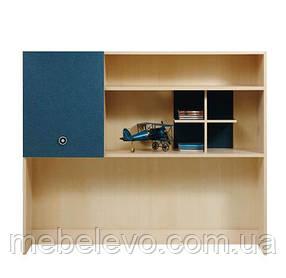 Гербор Твист Надставка стола   1005х1200х305мм синяя