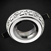 Светильник точечный из керамики [ Nabeul Easy -102 White / Black ]