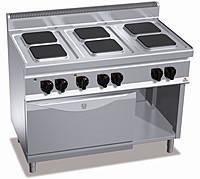 Плита электрическая Bertos SPA  Е7РQ6+FE1