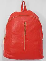 Рюкзак модный кож.зам красный, фото 1