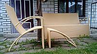 Комплект плетеной мебели для отдыха