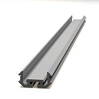 Алюминиевый НЕанодированный профиль для светодиодной подсветки аналог Z200, предназначен для крепления в ниши., фото 1