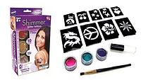 Татуировка для детей с блеском Shimmer Glitter Tattoos