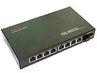 PoE коммутатор 8-и портовый 10/100Mb 8POE+1SC.WDM 1310