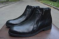 Кожаные демисезонные мужские ботинки Mida
