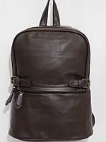 Рюкзак супер кож.зам темный шоколад, фото 1