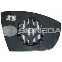 Стекло правого зеркала с подставкой Ford S-MAX 06-09 SFDM1022ER 6M2117K740AA