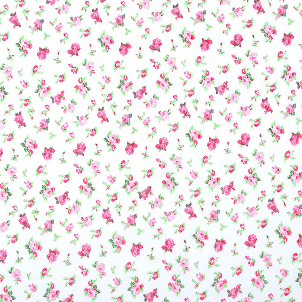 Хлопковая ткань Shabby Roses (перкаль)