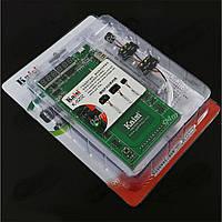 Модуль K-9202 с кабелями для включения и тестирования
