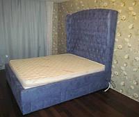 Эксклюзивные и стильные двуспальные кровати с мягким изголовьем и выдвижными ящиками под заказ в Украине