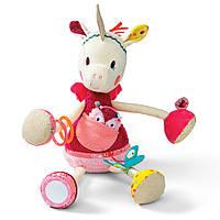 "Lilliputiens - Развивающая игрушка ""Единорог Луиза"", фото 1"