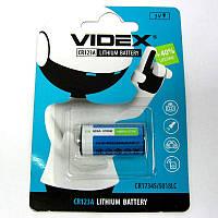 Батарейка  123A   VIDEX  (для  фотоаппаратов)