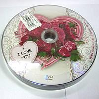 Диск Videx I love you  4,7Gb -16x  (bulk 10)    DVD-R