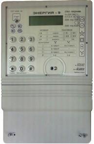 Электросчетчик Энергия-9 CTK3-10Q2H3Mt, А±R±, 220(380)В, 5А трехфазный многофункциональный прямого вкл.