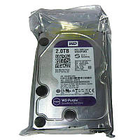 Жесткий диск HDD 2,0Tb WD,64Mb,7200rpm,SATAIII; WD20PURX (для видеонаблюдения)