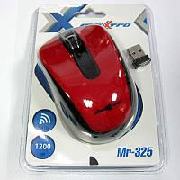 Беспроводная мышка Maxxtro Mr-325R  красная  USB (Акция!!!)