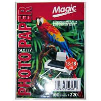 Фотобумага Magic 13х18см Glossy Photo Paper  100л 220г/м2 глянец